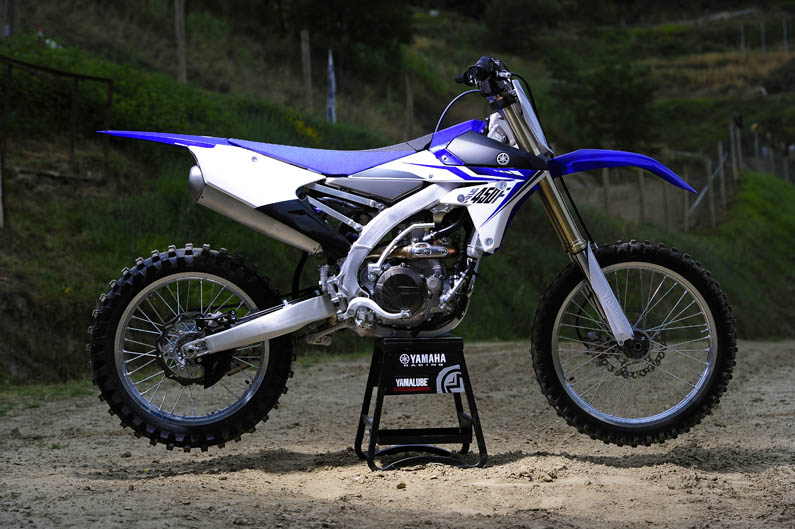 2014 Yamaha YZF 450 submited images.
