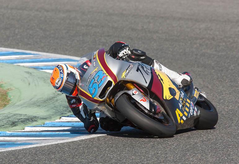 Pretemporada Moto2 y Moto3 en Jerez. Galería de fotos