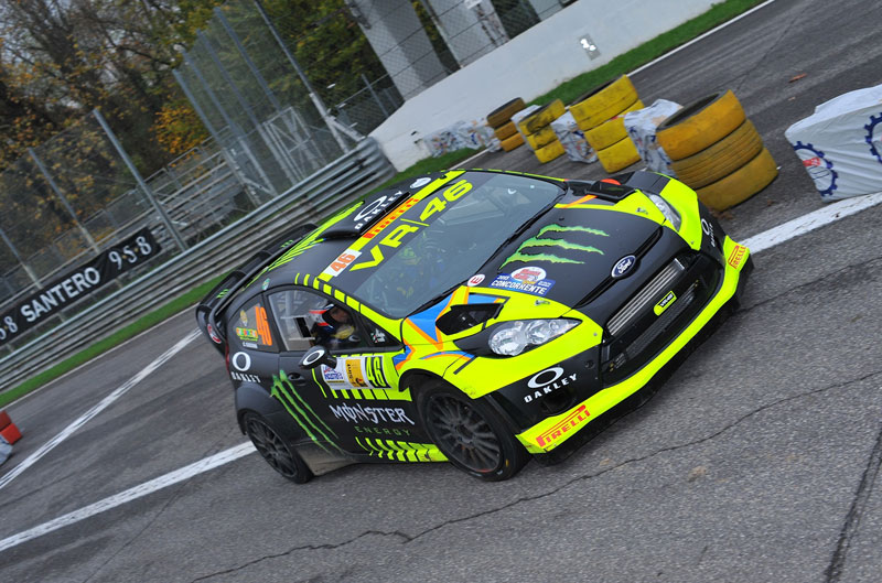 rossi rally monza 5