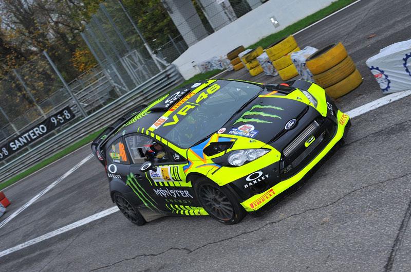 Valentino Rossi 2º en el Rally de Monza