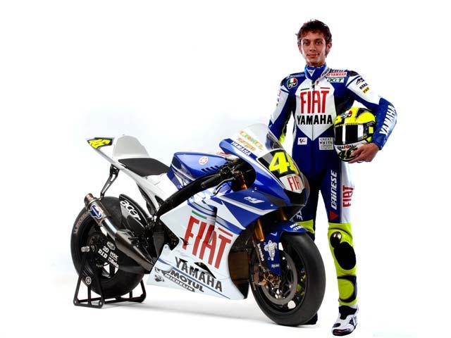 Fiat, patrocinador de Yamaha MotoGP