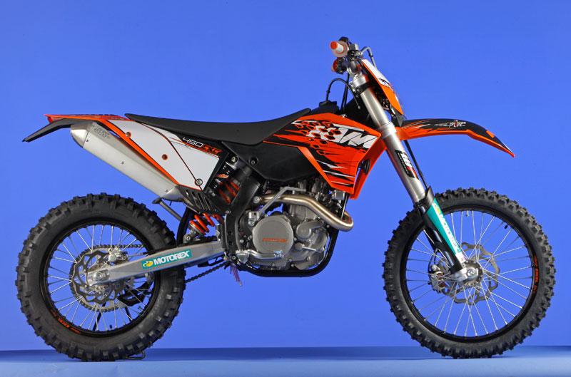 KTM 450 EXC 2010.