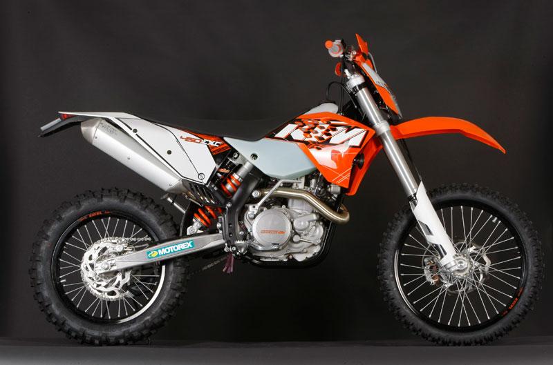 KTM 450 EXC 2011.