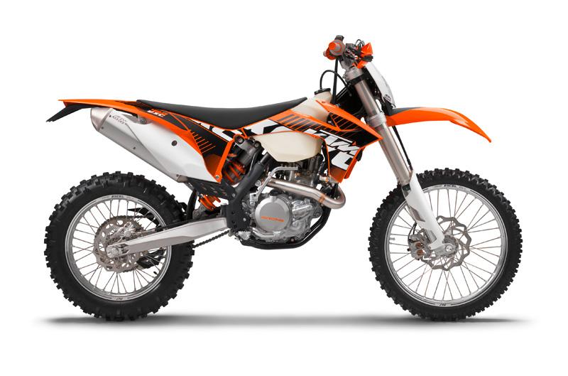 KTM 450 EXC 2012.
