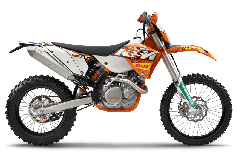 KTM 450 EXC 2011 Factory.