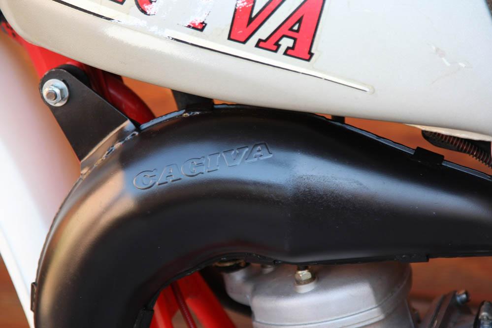 Cagiva WMX 125 1981. Galería de fotos