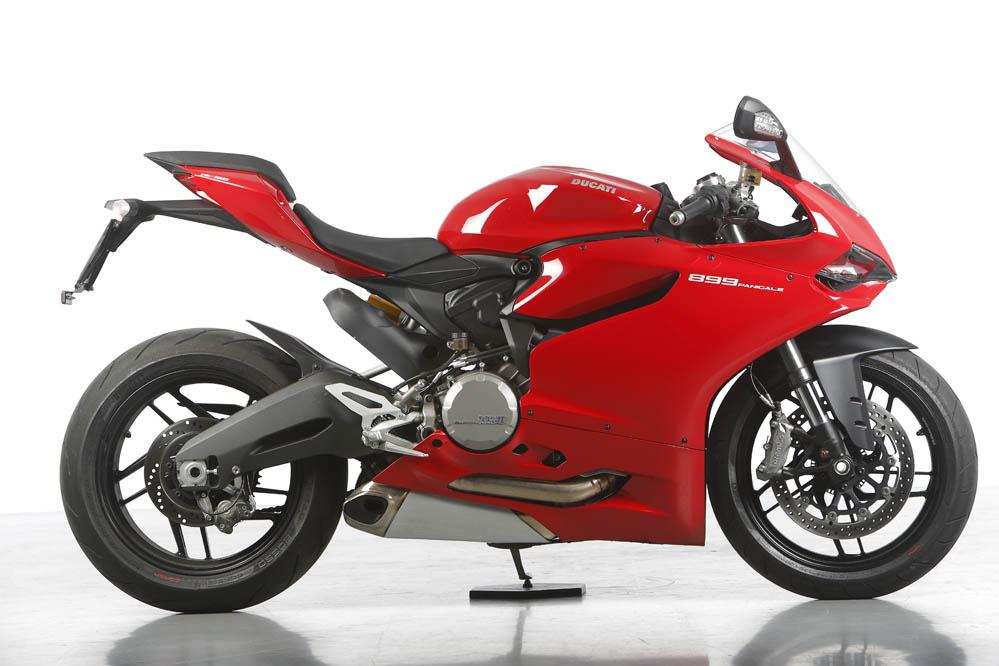 Prueba de la Ducati 899 Panigale. Fotos