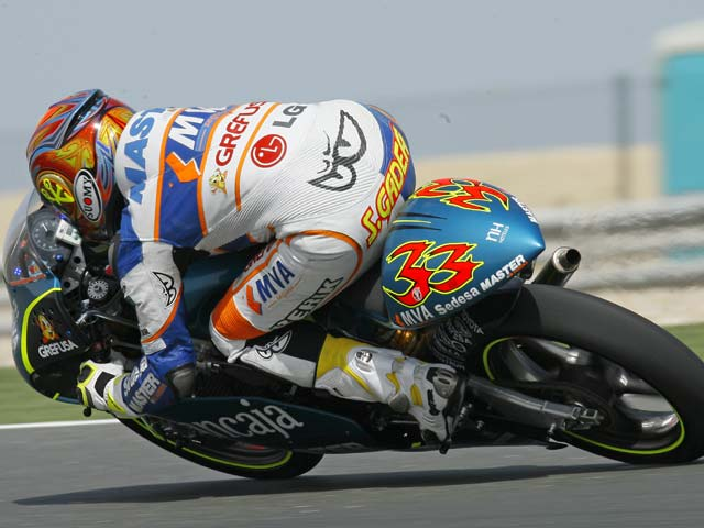 GP Qatar. Entrenamientos 125