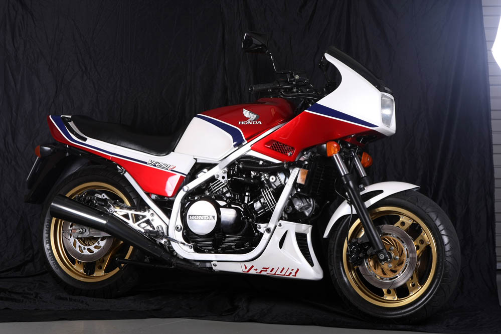 Honda VF750. Fotos