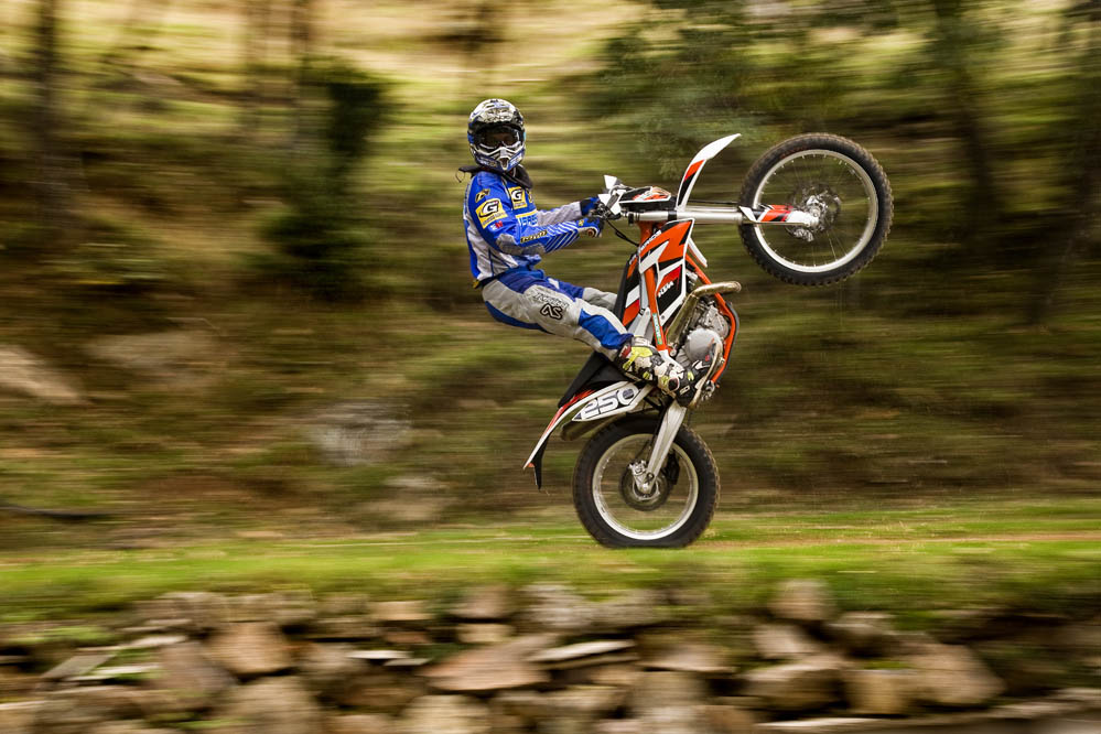 KTM 250 Freeride. Fotos