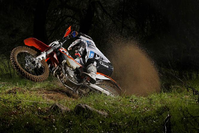 Fotos comparativa enduro: KTM 450 EXC VS Gas Gas EC 450 F Racing