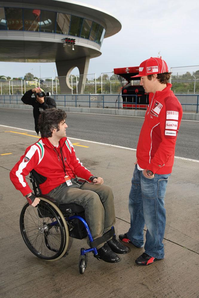 Entrevista a Nicky Hayden. Galería de fotos