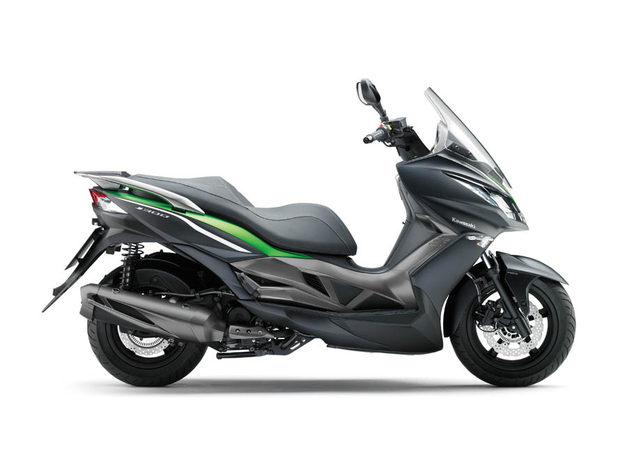 galer a comparativa scooter kawasaki j300 kymco kxct 300. Black Bedroom Furniture Sets. Home Design Ideas