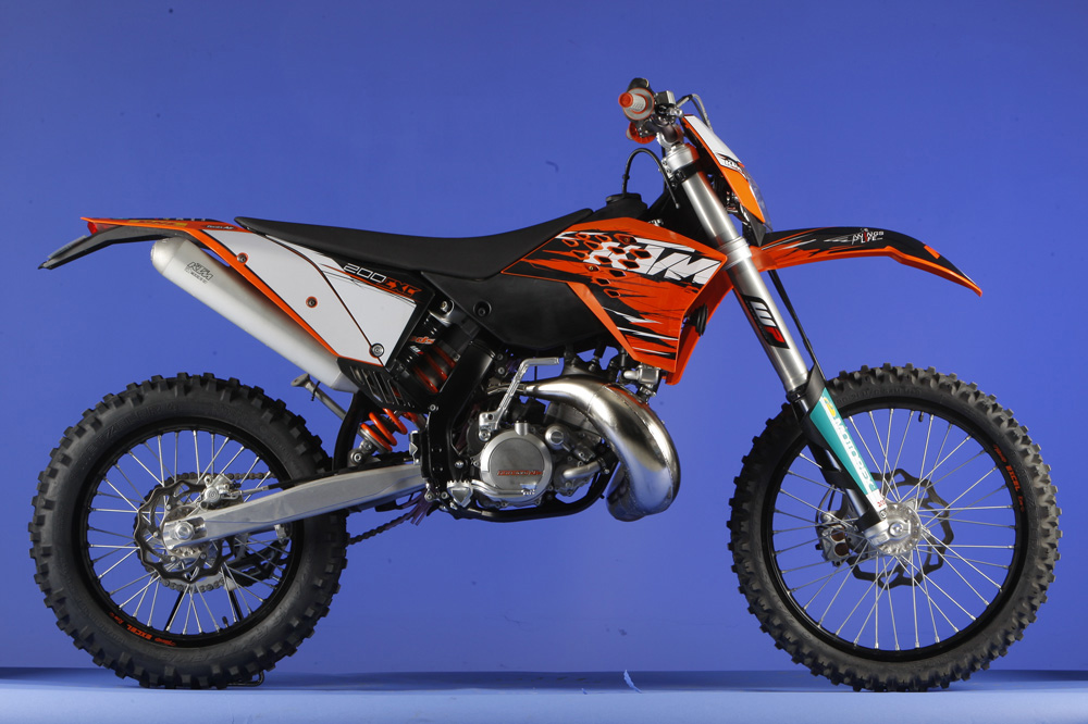 Galeria de fotos de la KTM EXC 2009