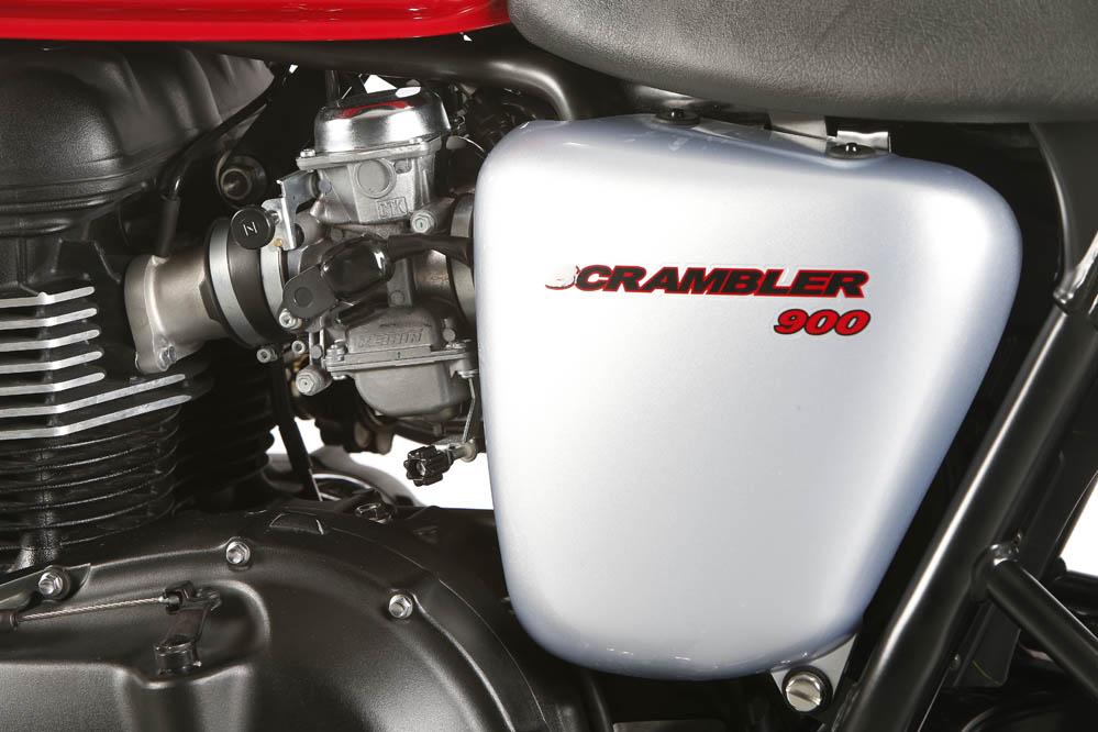 Fotos prueba de la Triumph Scrambler 900