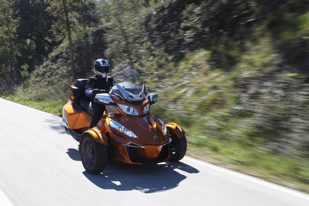 Can-Am Spyder RT. Galería de fotos