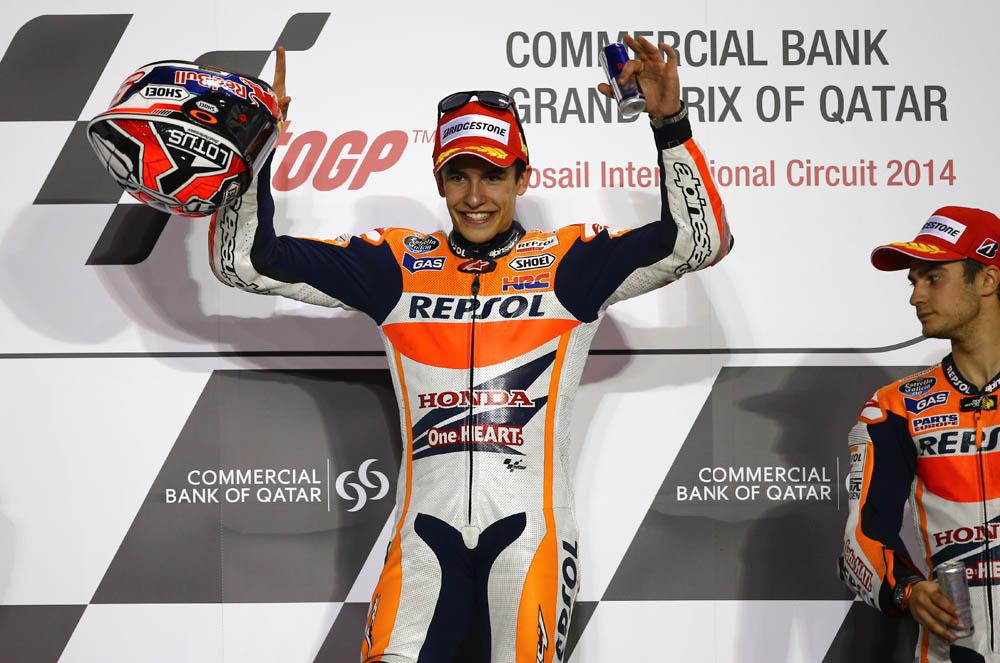 GP Qatar MotoGP 2014. Fotos