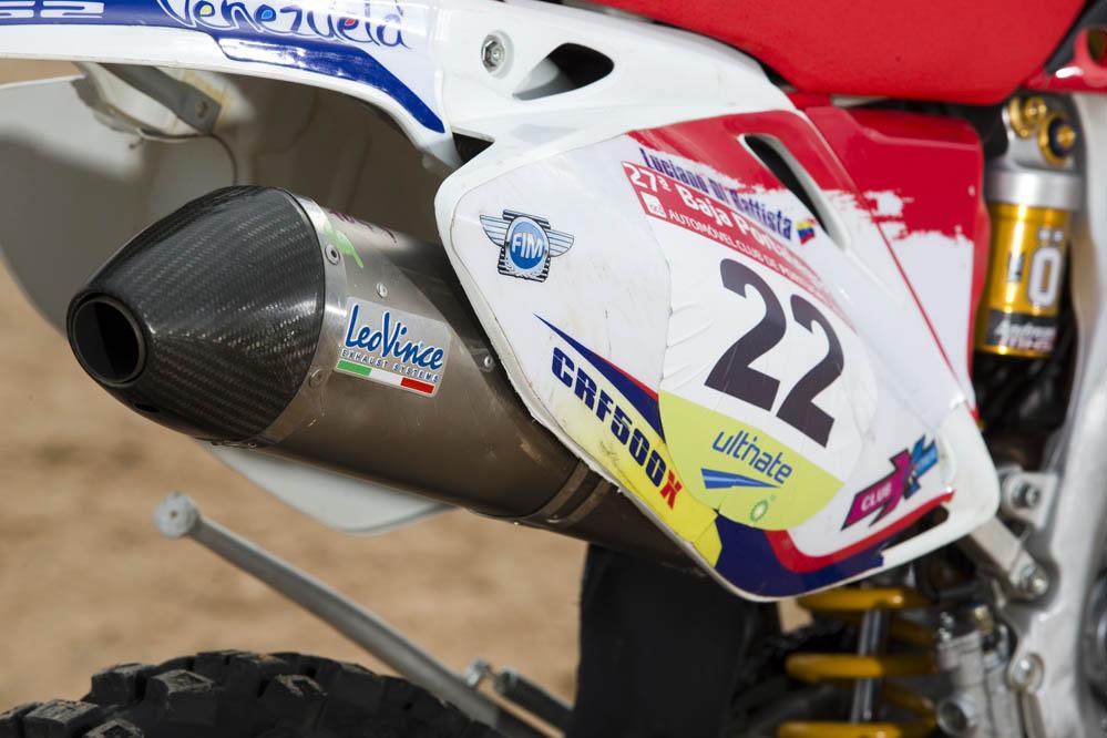 HM CRFX 500 Baja Team Venezuela. Fotos