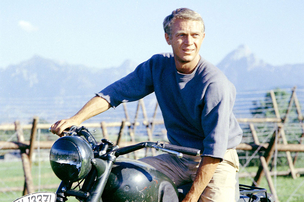 La gran pasión de Steve McQueen. Fotos