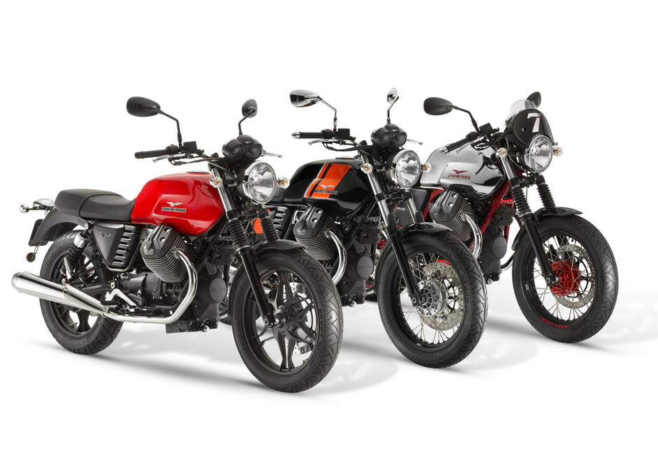 Moto Guzzi V7 2014. Fotos