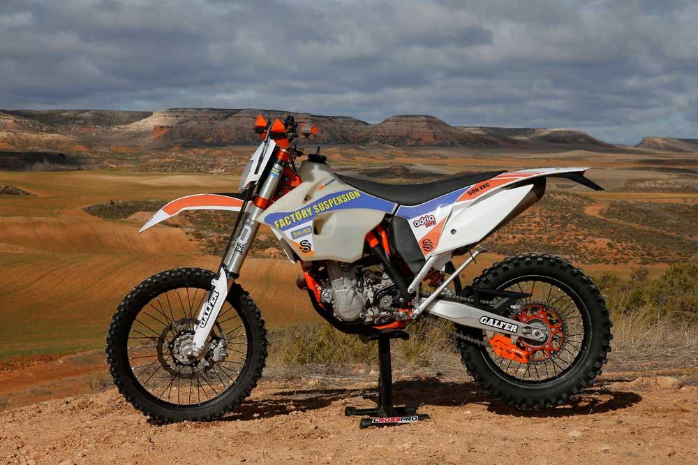 Galeria de fotos KTM 500 EXC Factöry Suspension