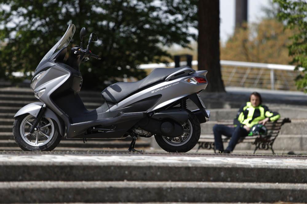 Prueba del Suzuki Burgman 200. Fotos
