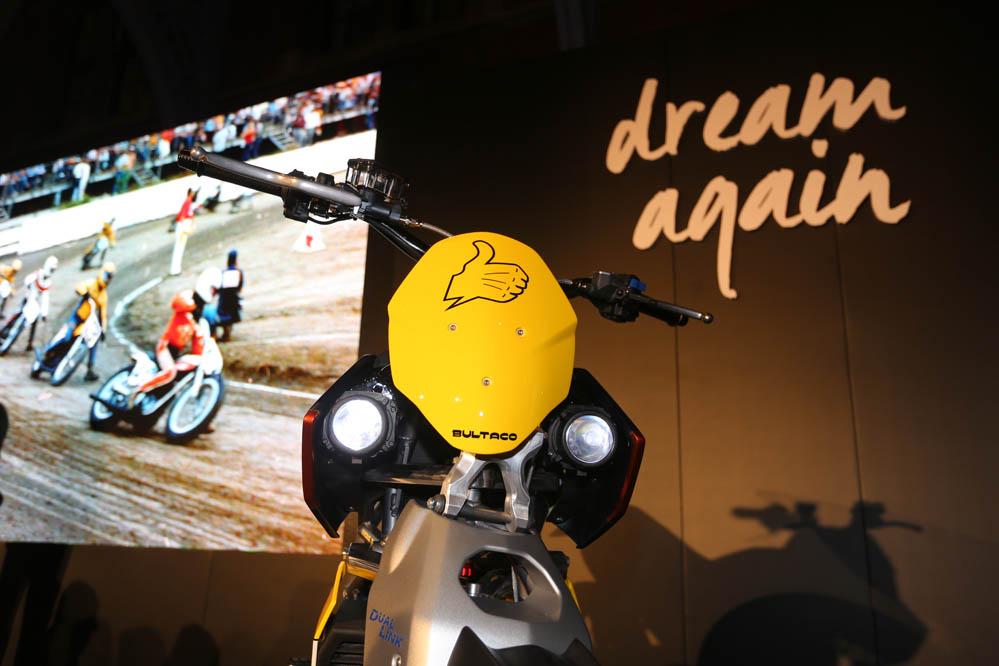 Bultaco presenta en Londres las Rapitan eléctricas. Galería