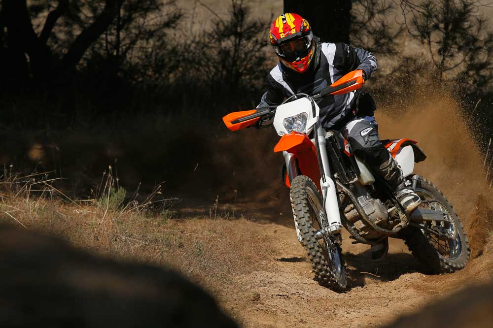 Comparativa enduro KTM 450 vs 500 EXC