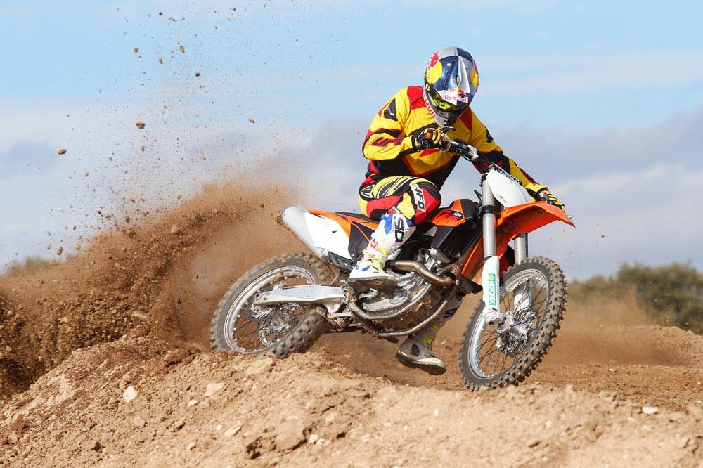 Galería de fotos de la comparativa motocross 450 2014 Husqvarna y KTM