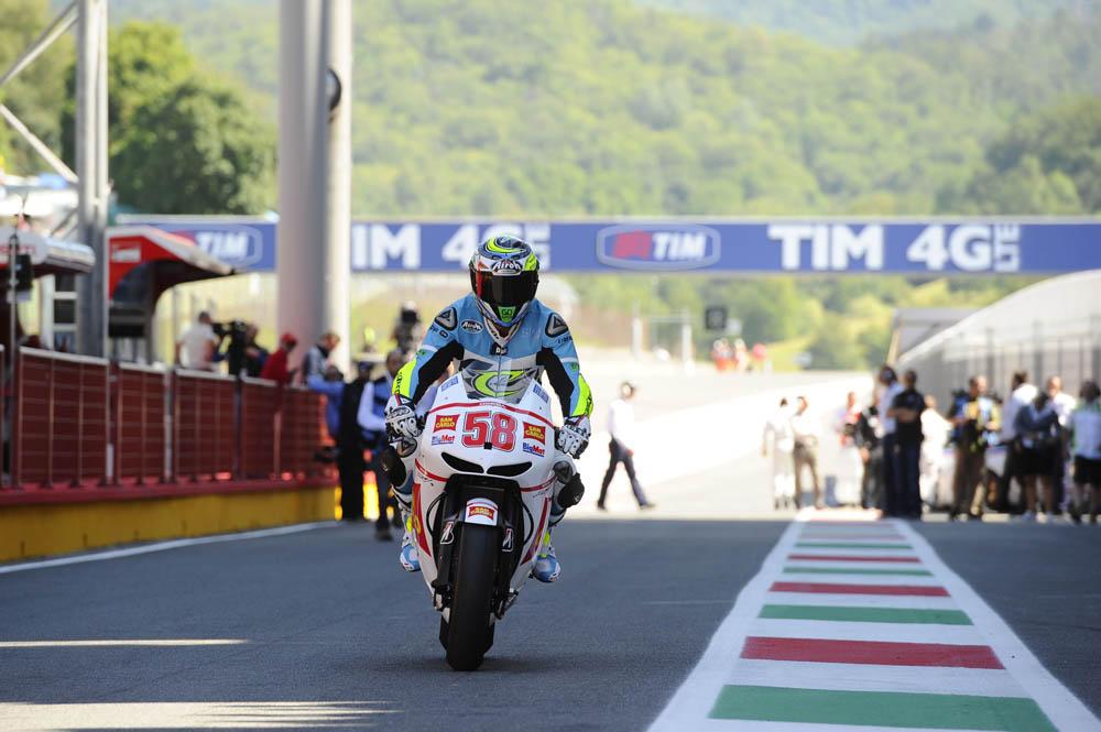 Marco Simoncelli, leyenda de MotoGP. Galería