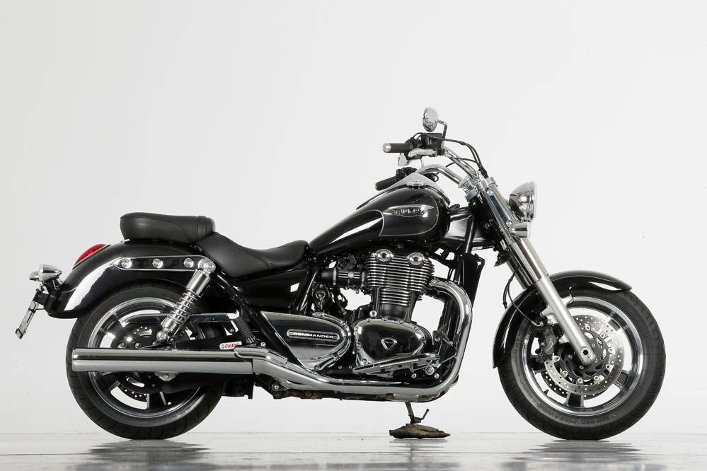 Triumph Thunderbird Commander. Fotos