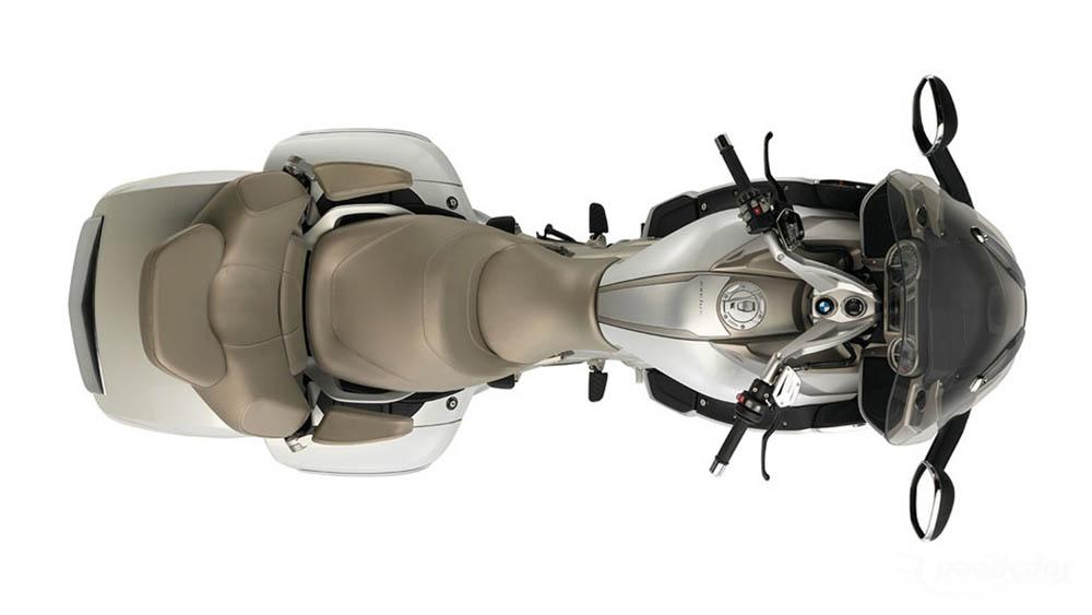 BMW K 1600 GTL Exclusive. Fotos
