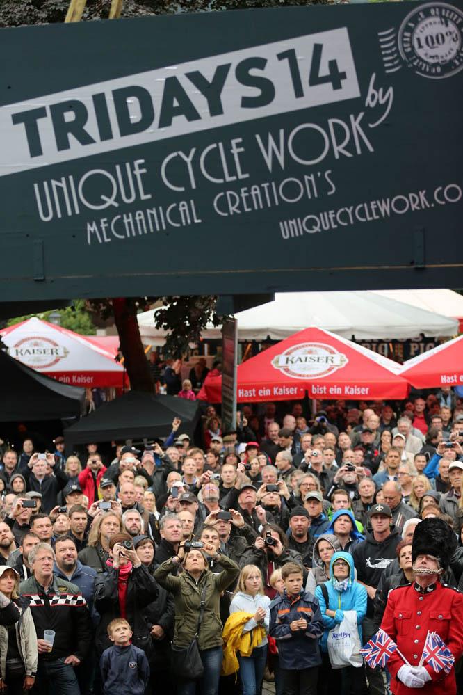 Triumph Tridays 2014. Fotos