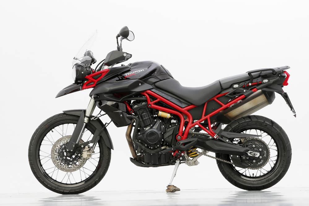 Comparativa trail: BMW F 800 GS Adventure vs Triumph Tiger 800 XC. Galería