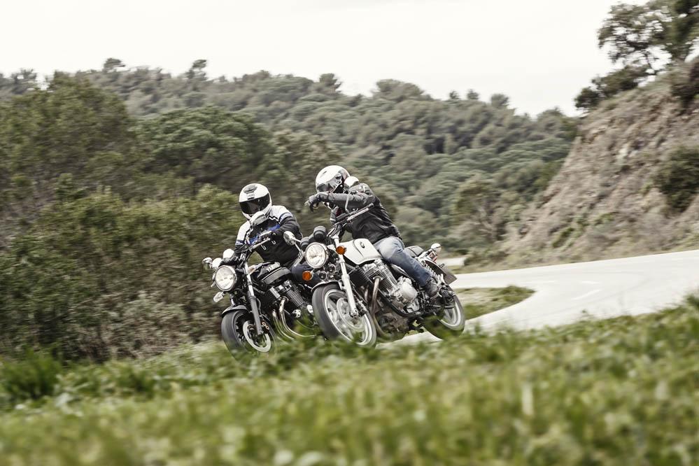 Comparativa retro: BMW, Honda, Moto Guzzi y Yamaha. Fotos
