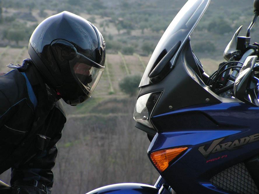 Objetivo 100.000: Honda XL1000V. Galería