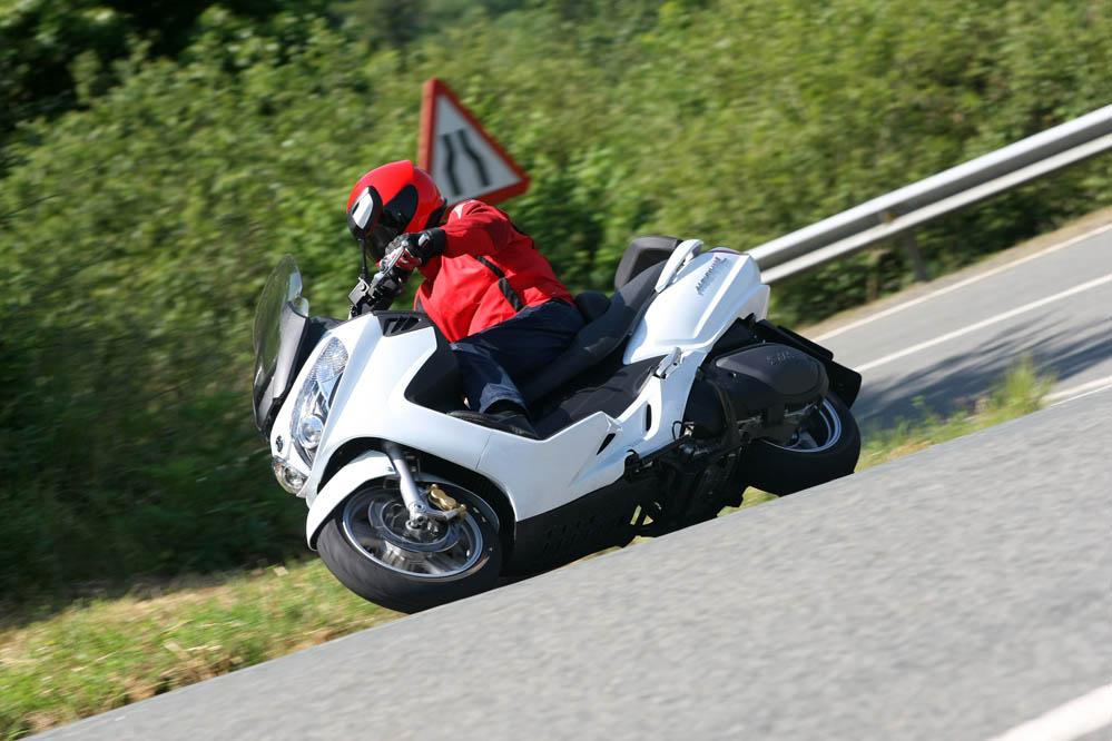 Prueba del SYM Maxsym 600i ABS  Galería | Motociclismo es