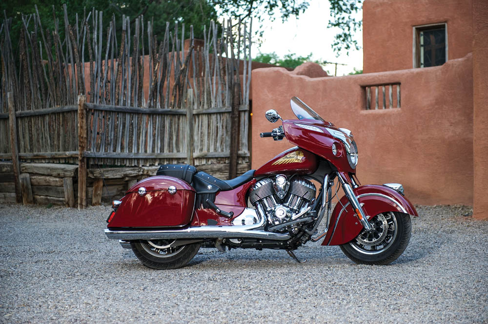 Indian Chieftain 2015. Fotos