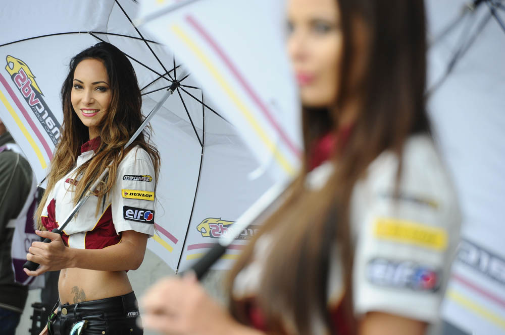 Las chicas del GP de República Checa 2014. Fotos