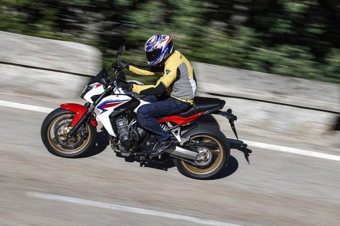 Honda CB650F 2014. Galería de fotos