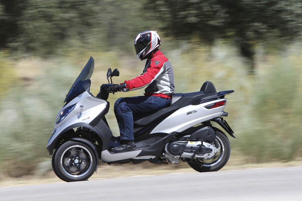 Piaggio MP3 500 ABS Sport. Fotos