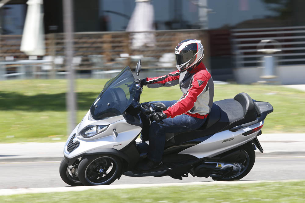 Piaggio MP3 500 ABS Sport. Fotos