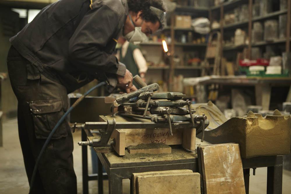 Las preparaciones de Valtorón. Fotos