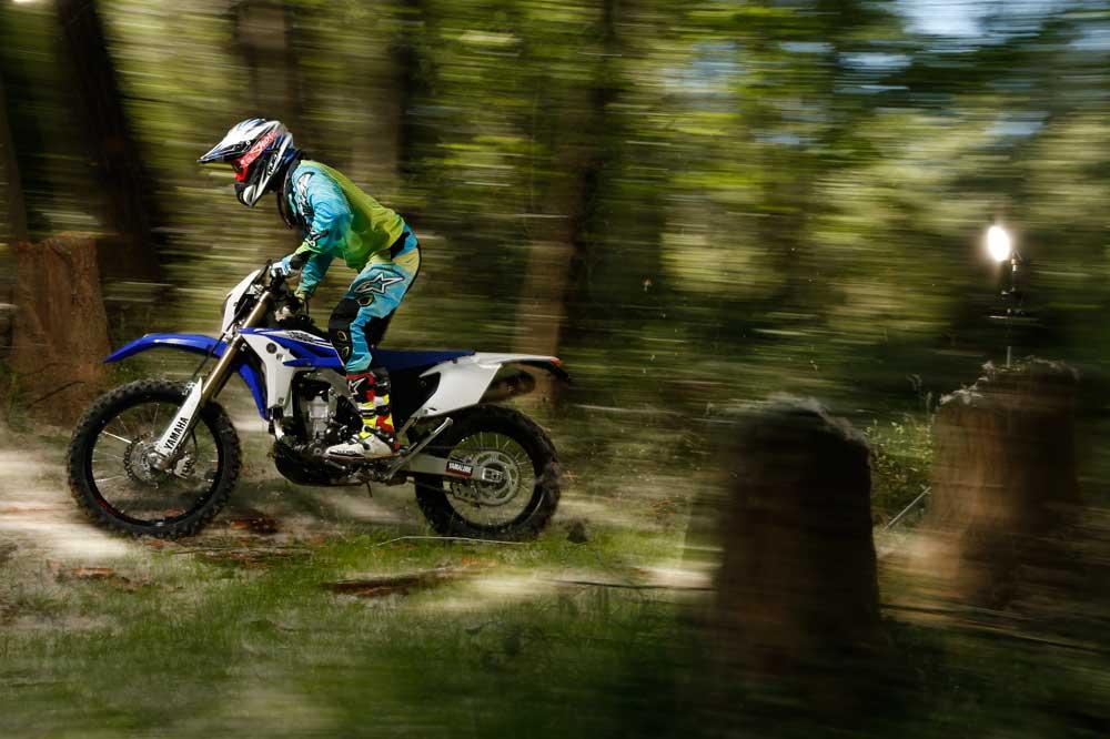 Galería de fotos prueba Yamaha WRF 450 2014