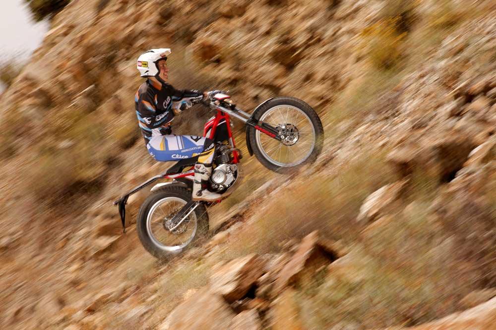 Galería de fotos Comparativa trial Gas Gas Randonnè 200 y Sherco XRide 290