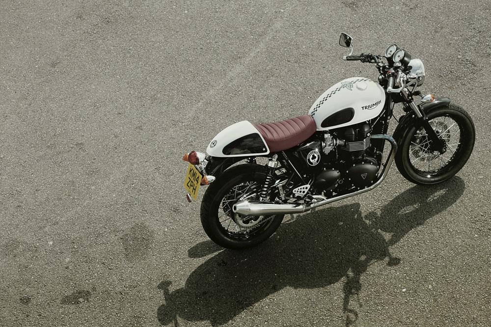Triumph Thruxton Ace, leyenda británica al cuadrado. Galería
