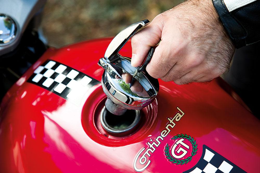 Royal Enfield Continental GT.Galería