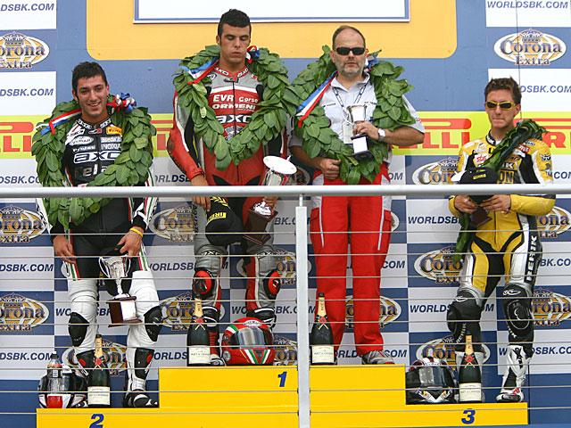 Scassa tercero en Stock 2006
