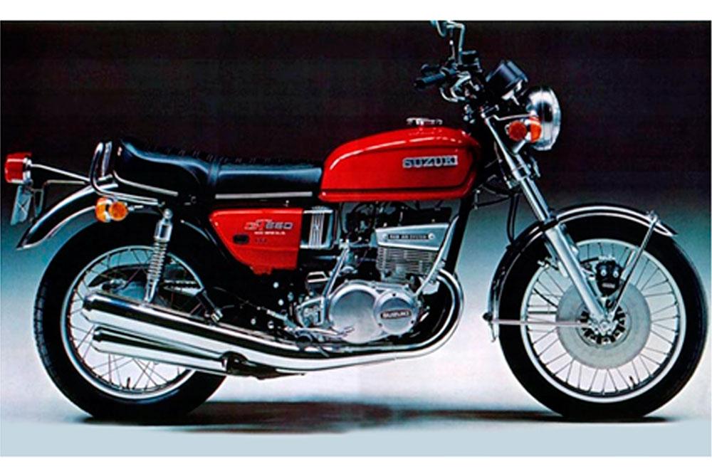 Motos clásicas: Suzuki T500J. Galería