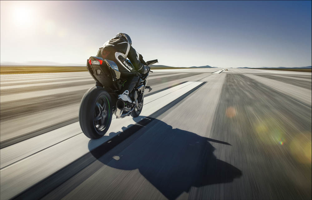 Kawasaki Ninja H2R. Fotos